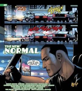 Green Lantern #0, 2012, title page, Doug Mahnke