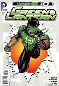 Green Lantern #0, 2012