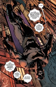 Batman #1, 2016, David Finch, upside down