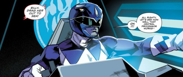 Blue Ranger, MMPR #4, Hendry Prasetya
