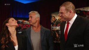 McMahons, Kane, WWE Raw, June 13, 2016
