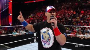John Cena, WWE Raw, June 6, 2016