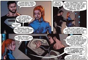 Clark Kent, Lana Lang, Superman Rebirth #1, 2016