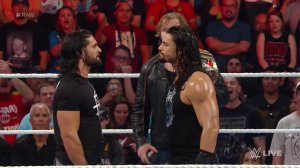 WWE Raw, June 20, 2016, Seth Rollins, Roman Reigns