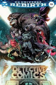 Detective Comics #934, 2016, Eddy Barrows