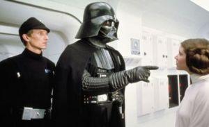 Darth Vader, Princess Leia, Star Wars: A New Hope
