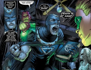 Green Lantern Vol. 2 Revenge of the Black Hand, image 1