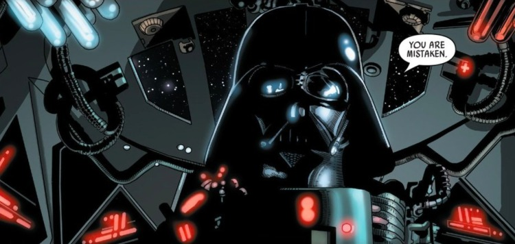Darth Vader #21, Salvador Larroca, movie rendering