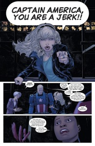 USM, Gwen Stacy, Captain America
