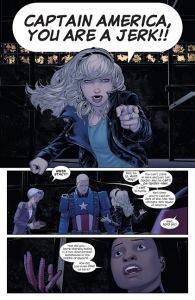 USM, Gwen Stacy, Captain America