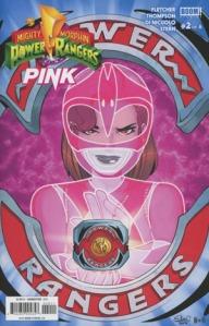 Mighty Morphin Power Rangers: Pink #2, cover, Elsa Charretier