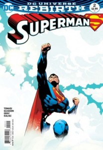 Superman #2, 2016, Patrick Gleason