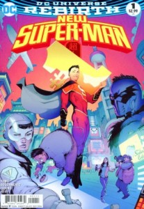 New Super-Man #1, 2016, cover