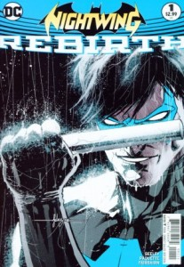 Nightwing: Rebirth #1, 2016, cover