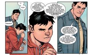 Nightwing: Rebirth #1, Dick and Damian, yanick Paquette