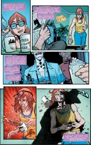 Batgirl and the Birds of Prey #1, Killing Joke flashback