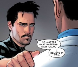 Civil War II #3, Bruce Banner, Tony Stark