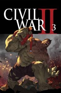 Civil War #3, 2016,