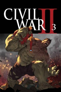 Civil War #3, 2016,