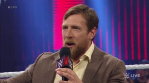 WWE Raw, July 18, 2016, Daniel Bryan