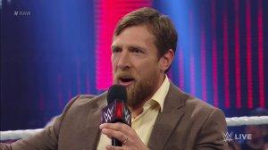 WWE Raw, July 18, 2016, Daniel Bryan