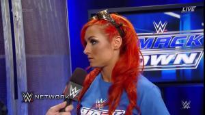 Becky Lynch, WWE Draft 2016