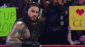 Roman Reigns, WWE Raw, July 25, 2016