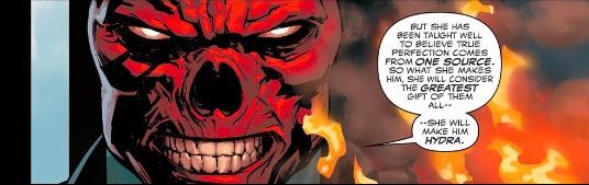 Red Skull, Captain America Steve Rogers#1,2016, Jesus Saiz