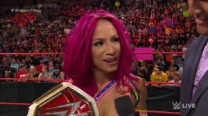 Sasha Banks, WWE Women's Champion