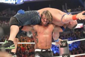 AJ Styles, John Cena, WWE Summerslam 2016