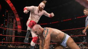 Cesaro vs. Sheamus, WWE Raw, August 1, 2016