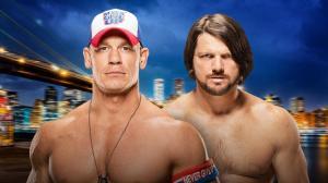 WWE, Summerslam 2016, John Cena, AJ Styles