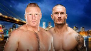 WWE Summerslam 2016, Brock Lesnar, Randy Orton