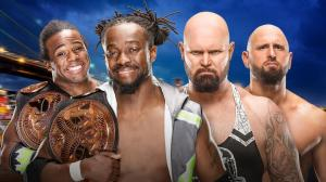 New Day vs. Gallows & Anderson, WWE Summerslam 2016