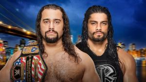 WWE Summerslam 2016, Rusev, Roman Reigns