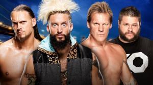 Enzo & Cass vs. Jericho & Owens, WWE Summerslam 2016