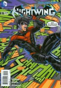 Nightwing #19 cover, Brett Booth