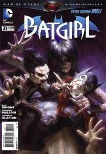 Batgirl #21 (2013), cover by Alex Garner