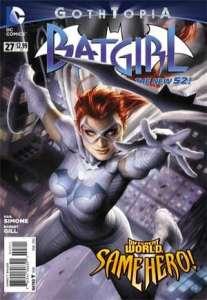 Batgirl #27, 2014, Alex Garner cover