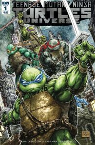 TMNT Universe #1, Freddie E. Williams II, cover