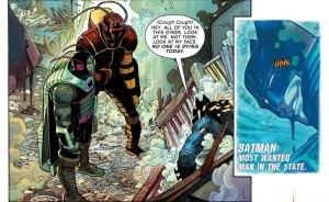 All-Star Batman #1, John Romita Jr., face