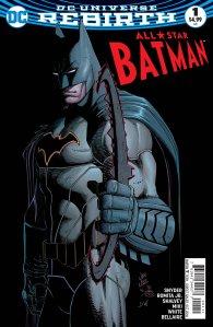 All-Star Batman #1, John Romita Jr., 2016