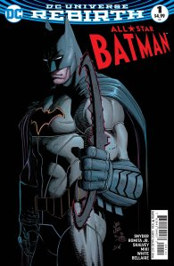 All-Star Batman #1, John Romita Jr., 2016