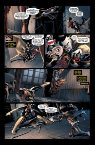 Batgirl #21, Fernando Pasarin, interior