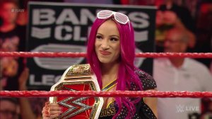 Sasha Banks, WWE Raw, August 1, 2016