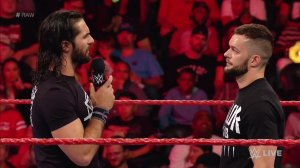 WWE Raw, August 1, 2016, Seth Rollins, Finn Balor