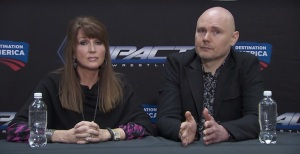 Dixie Carter, Billy Corgan, TNA