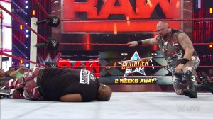 Bubba Ray Dudley, WWE Raw, August 8, 2016