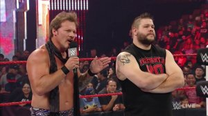 WWE Raw, August 8, 2016, Chris Jericho, Kevin Owens