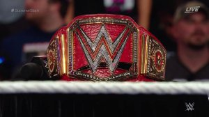 WWE Universal Title unveiling